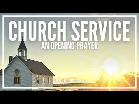 Opening Prayer For Sunday Church Service - Opening Prayer In Church
