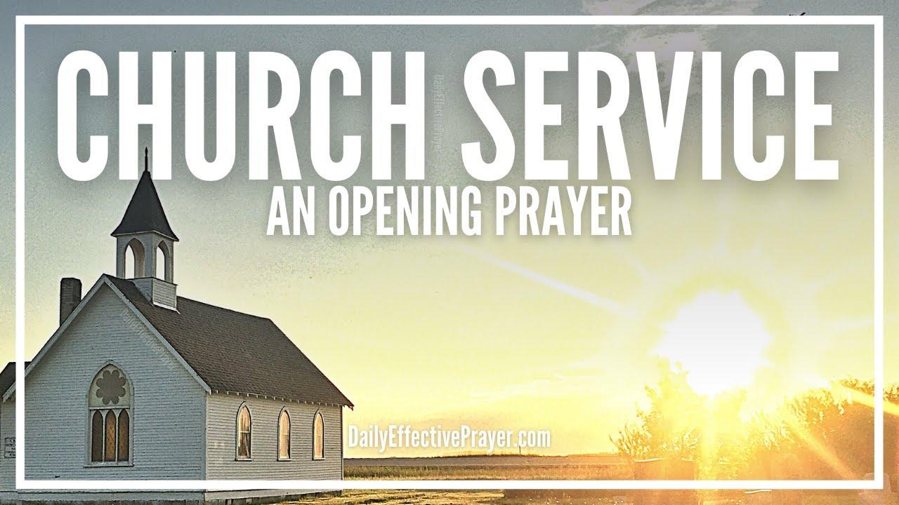 Opening Prayer For Sunday Church Service | Opening Prayer In Church