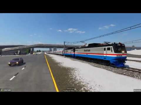 Transport Fever 2 - Ride Along Amtrak |