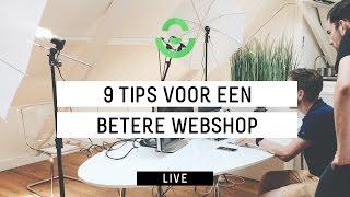 Webinar: 9 tips voor een betere webshop!