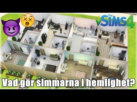 Sims 4 || Vad gör simmar när man inte styr dem?