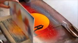 Рисование баллончиком  Spray Paint art(Граффити на бумаге А4, супер рисунки. Вы себе даже не представляете что можно сделать с помощью баллончиков..., 2015-04-02T17:40:43.000Z)