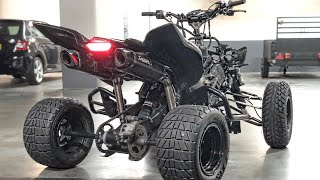 YAMAHA RAPTOR R1 SUPERQUAD CONVERSION **#BWIGBWANG** PT.1