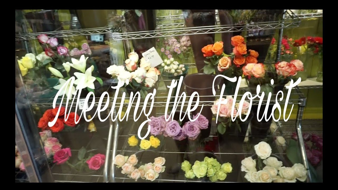 Wedding Vlog: Meeting the Florist