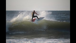 Li Locals Surf Hurricane Irma