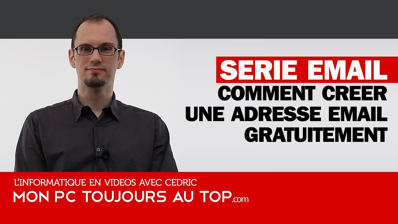 Comment cr er une adresse email youtube - Comment realiser une video ...