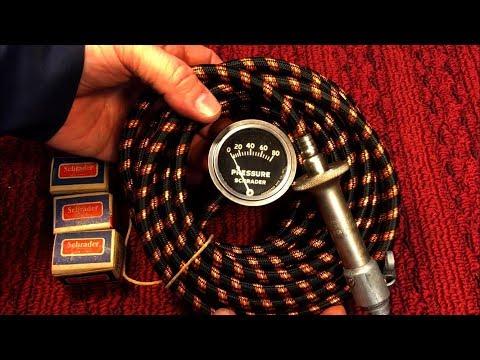 Schrader Spark Plug Air Pump