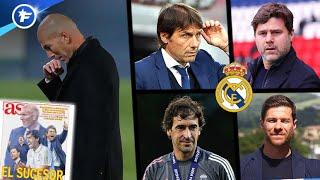 La short-list du Real Madrid pour remplacer Zinedine Zidane | Revue de presse