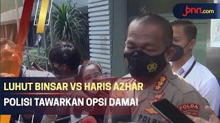 Polisi Upayakan Luhut dan Haris Azhar Damai - JPNN.com