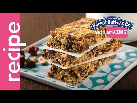 Loaded Peanut Butter Granola Bars Recipe