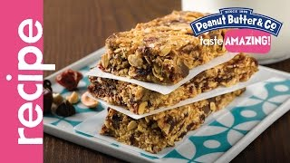 Loaded Peanut Butter Granola Bars Recipe