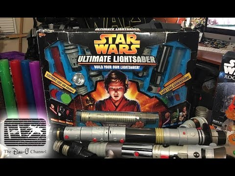star wars ultimate lightsaber build your own lightsaber kit 2005