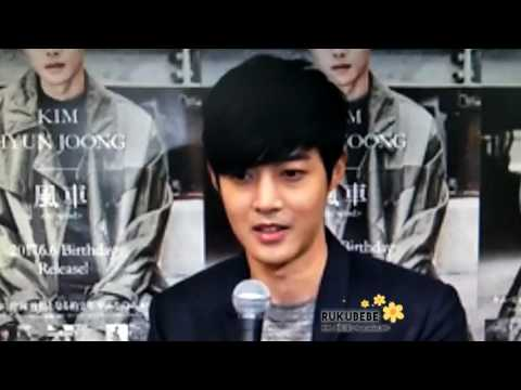 (CLOSE UP) Kim Hyun Joong Niconico video Live ~ Interview