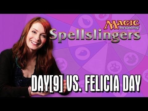 Day9 vs. Felicia Day in Magic: The Gathering: Spellslingers Ep 5
