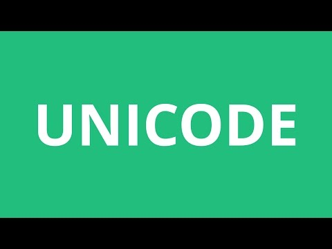 How To Pronounce Unicode - Pronunciation Academy