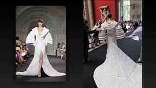 PLETENA MODA.Вязаное платье для настоящей королевы. (crochet)