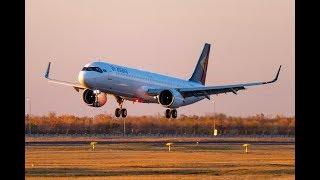Қазақстанға жаңа A321LR әуелайнері келді