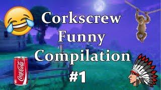 Corkscrew2 Funny Compilation #1 - Как да отворим кенче