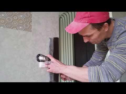 Как аккуратно и быстро подрезать внешний (наружный )угол на любых обоях