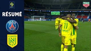 PARIS SAINT-GERMAIN - FC NANTES (1 - 2) - Résumé - (PSG - FCN) / 2020-2021