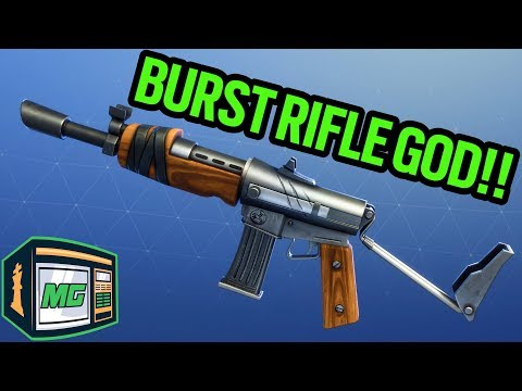 Burst Rifle God - Fortnite Battle Royale