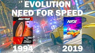 EVOLUTION OF NEED FOR SPEED SERIES (1994 - 2019)