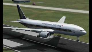 [SIM] Singapore Airlines SQ182: Singapore (SIN) - Bandar Seri Begawan (BWN) [FS2004]