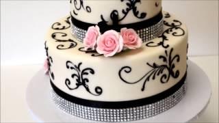 Two Tier Beatiful Wedding Cake