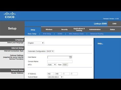 الدرس15:اعدادات روتر (configuration D-link (DSL- 2750u طريقة صالحة