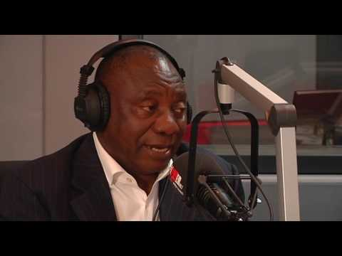 Power FM Radio interview with Deputy president Cyril Ramaphosa