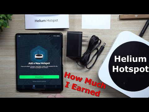Mining Helium ($HNT) With The Helium Hotspot
