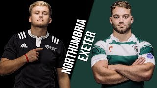 BUCS Super Rugby: Northumbria v Exeter