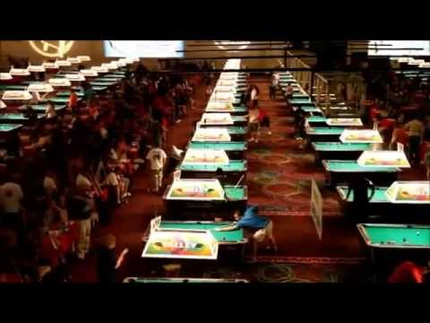 Vnea vegas promo by thailand pool tables youtube for Pool show vegas