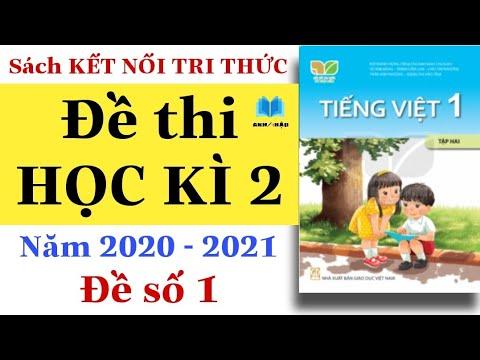ĐỀ THI HỌC KÌ 2   Tiếng Việt Lớp 1   KẾT NỐI TRI THỨC VỚI CUỘC SỐNG   Đề kiểm tra Năm học 2020 2021