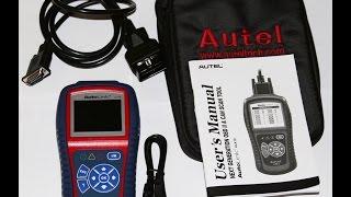 Простой обзор портативного сканера Autel AL419