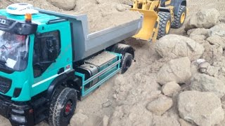 RC Trucks súper Iveco trakker radio control power!