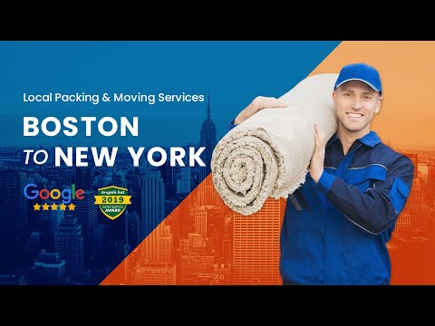 Boston to New York Movers - Need Moving Services from Boston To New York? Need a Boston to NYC Mover