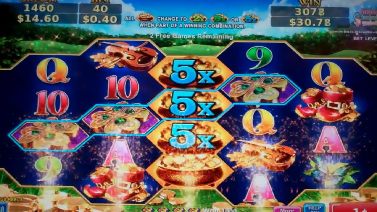 Leprechaun Slot Machine Games