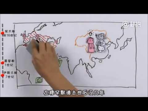 【世界三大宗教的歷史】基督教、伊斯蘭教和佛教【動畫】