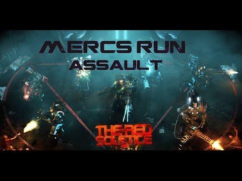 MERCS Solo Assault - Central Sector
