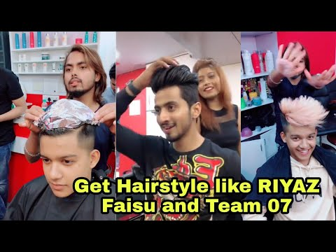 Hairstyle Like Riyaz Faisu And Team07 | How To Get Hairstyle Like Riyaz Faisu And Team07
