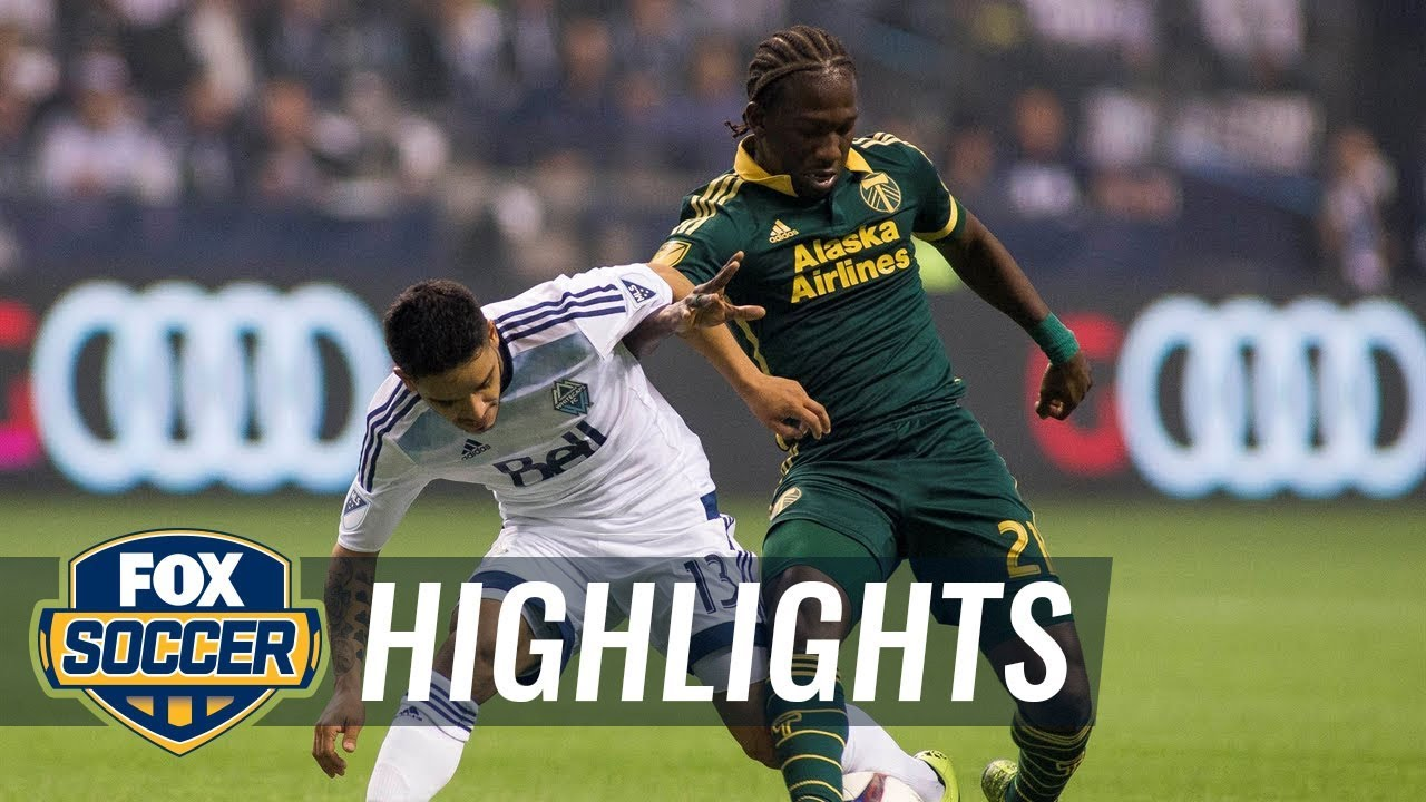 Chara late goal seals Portland Timbers win over Vancouver Whitecaps | 2015 MLS Highlights