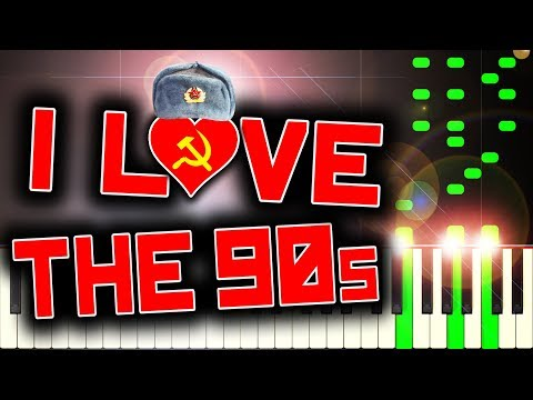 RUSSIAN IN THE 90S - Piano Tutorial