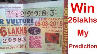 win 26 lakhs nagaland lottery with prediction/लॉटरी चालें