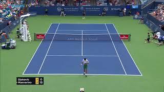 Hot Shot: Djokovic Displays Forehand Variety In Cincinnati 2018