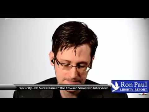 Snowden w/ Ron Paul | 'Im Open To Change And Being Persuaded'