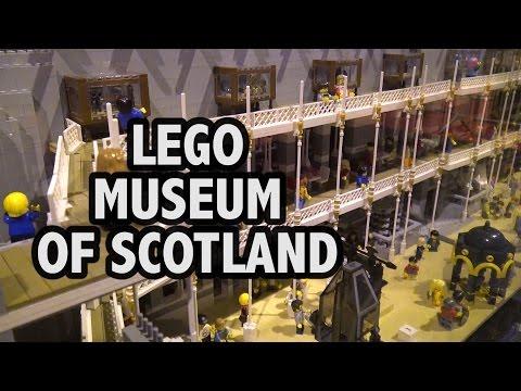 Huge LEGO National Museum of Scotland