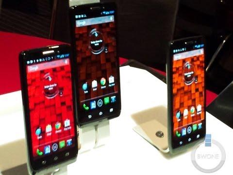Motorola DROID Mini Vs. Ultra Vs. Maxx Hands On