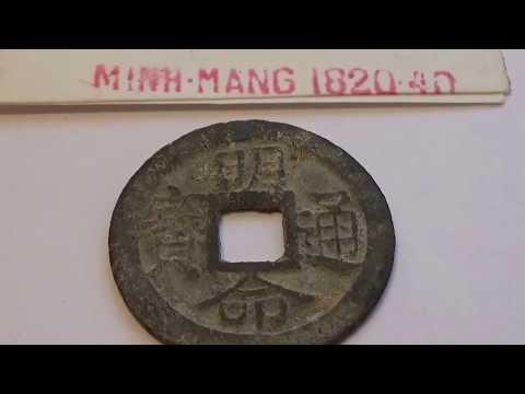 Rare Minh-Mang 1820-40 Vietnamese Coin