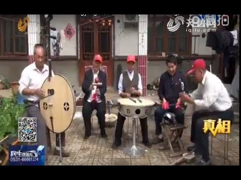 Musical instrument inventor Liu Changying 刘长营 in Linyi, Shandong, China